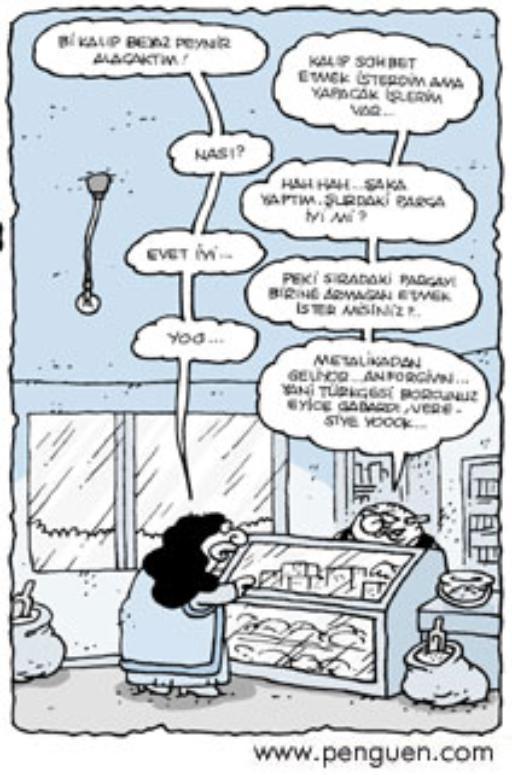 Karikatür Entel Bakkal Muhittin Istihbarat Ve Analiz